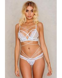 For Love & Lemons - Vega Strappy Thong - Lyst