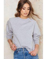 Filippa K - Cot Cash Sweatshirt - Lyst