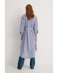 Mango Hemdkleid - Blau