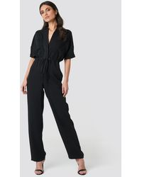 Mango Now Jumpsuit - Zwart