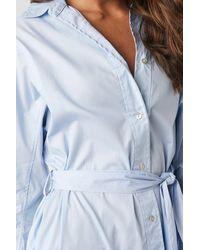 Mango Cuscus Dress - Blauw