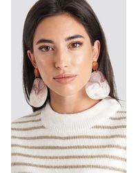 Mango Red,multicolor Akili Earrings