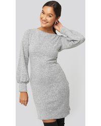 Trendyol Milla Knitted Dress - Grijs