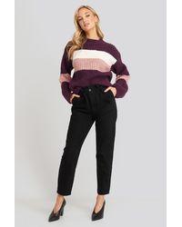 Trendyol Super High Waist Mom Jeans Black