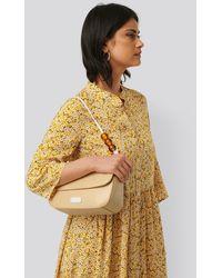 NA-KD Bead Strap Shoulder Bag - Naturel