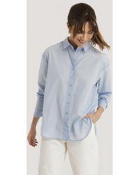 Trendyol Blue Loose Fit Shirt