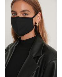 NA-KD Black 3-pack Basic Face Masks