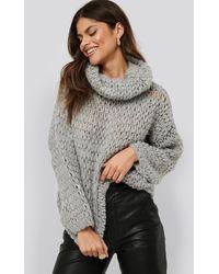 Mango Nest Sweater - Grijs