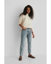 Mango Blue Mom 80 Jeans
