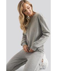 NA-KD Basic Sweater - Grijs