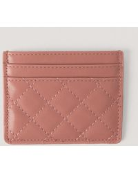 NA-KD Pink Quilted Card Holder