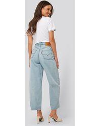 Levi's Mom Jeans - Blauw