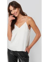 Mango Cumino Top Silver - Metallic
