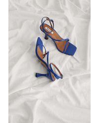 NA-KD Shoes Sandaal Met Bandjes - Blauw