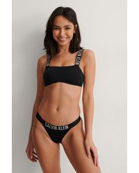 Calvin Klein Brazilian Bikini Bottom - Schwarz