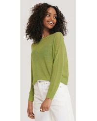 Mango Green Claudia Jumper