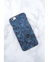 NA-KD - Iphone Case 6/6s Dark Green Marble - Lyst