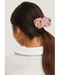 NA-KD - Pink 2-pack Vintage Look Blossom Hairclips - Lyst