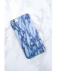 NA-KD - Iphone Case 6/6s Light Blue Marble - Lyst