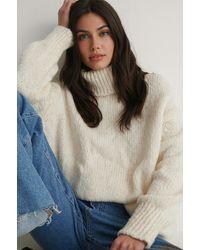 Trendyol Offwhite Milla Turtleneck Knit Jumper - Multicolour