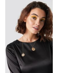 NA-KD - Round Pendant Necklace - Lyst