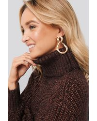 Mango Brown Chewy Jumper - Red