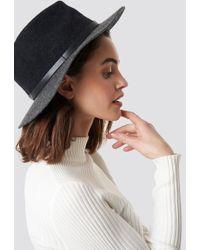 Trendyol Trilby Hat Antracite - Multicolor