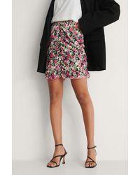 Trendyol Multicolour Milla Flower Mini Skirt