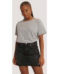 Mango Black Monica Skirt
