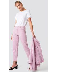 Mango - Malva Jeans Light Purple - Lyst