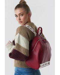 NA-KD Backpack Red