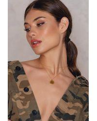 Alona Eyenamour Double Necklace - Metallic