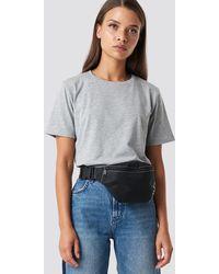 NA-KD Basic T-shirt - Grijs