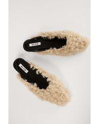 NA-KD Shoes Sandalen - Naturel