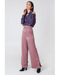 Lavish Alice - Shiny Trousers Pink - Lyst