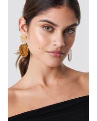 Mango - Royal Earrings Terracotta - Lyst