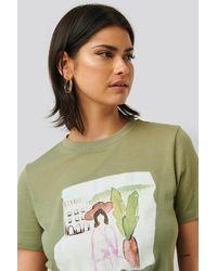 NA-KD T-shirt - Groen