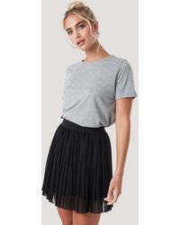 NA-KD Mini Pleated Skirt - Schwarz