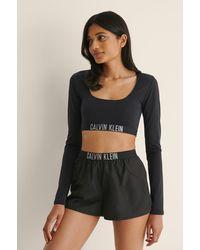 Calvin Klein Gerecycleerd Short - Zwart