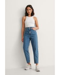 Levi's High Loose Taper Jeans - Blauw
