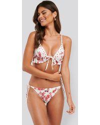 Trendyol Bikini-Unterteil Mit Seitlicher Schnürung - Mehrfarbig