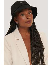 Calvin Klein Metal Safari Hat - Zwart