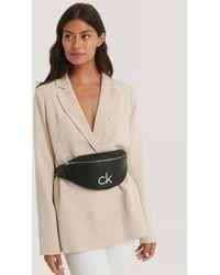 Calvin Klein Black Re-lock Waistbag