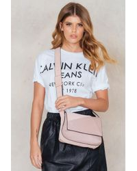 CALVIN KLEIN 205W39NYC - Jillian Lux Small Flap Crossbody - Lyst