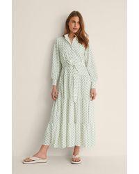 Trendyol Gemustertes Kleid - Mehrfarbig