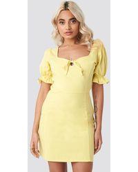 NA-KD - AFJ x Sweetheart Mini Dress - Lyst