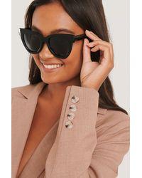 NA-KD - Accessories Oversize Chunky Cateye Sunglasses - Lyst