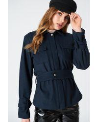 NA-KD - Belted Short Coat - Lyst
