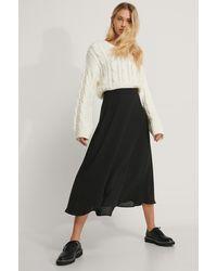 NA-KD - Midi Wrap Skirt - Lyst