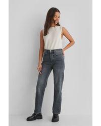 Mango Kurze Jeans - Grau